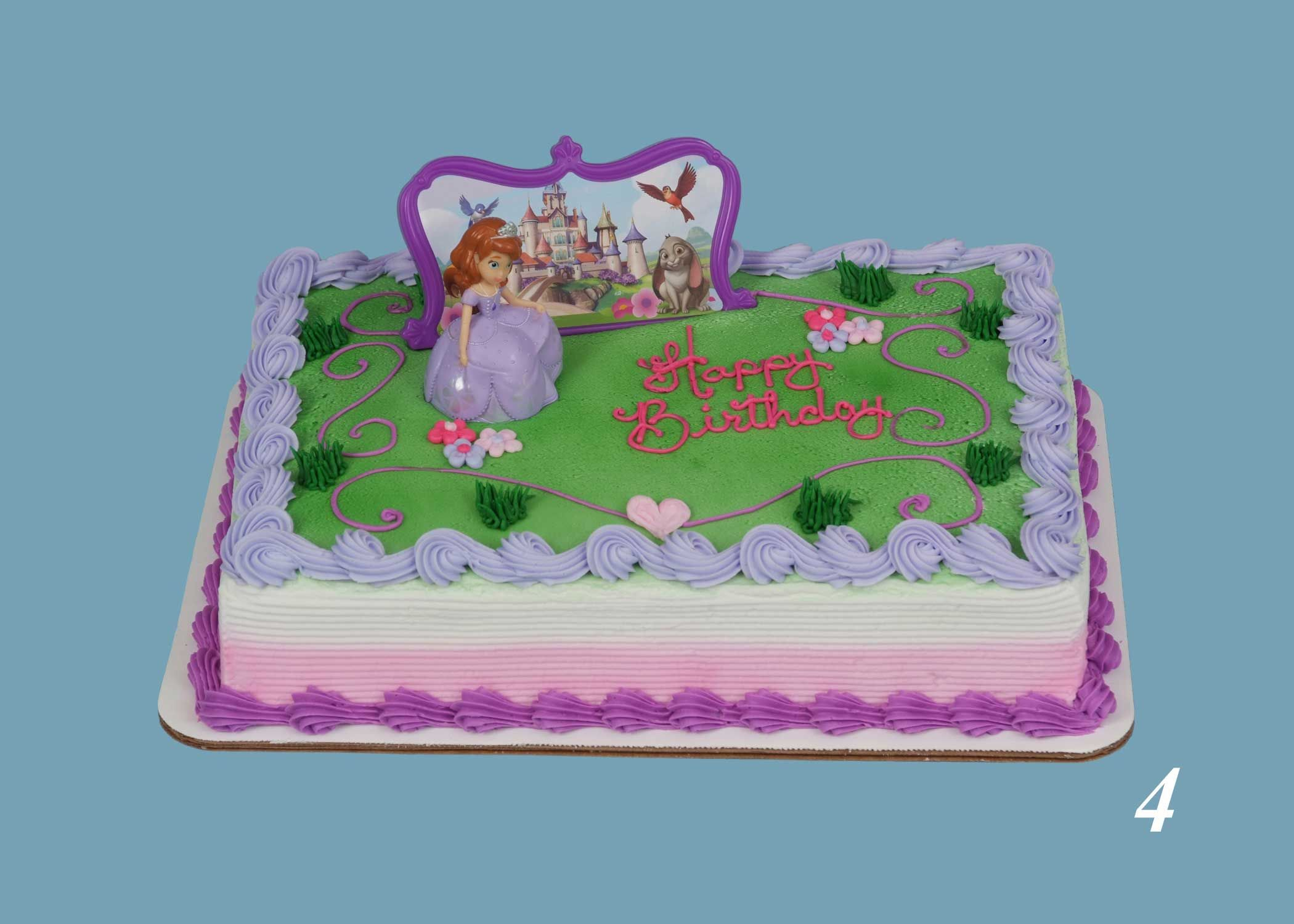 Schnucks Bakery Has A Variety Of Decorated Cakes Based On Your