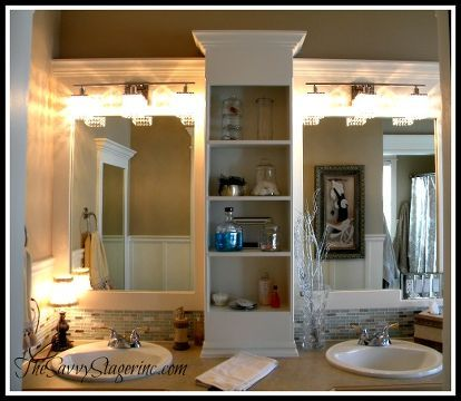 How To Frame A Builder Grade Mirror A Breakdown Of The Details Builder Grade Color Walls