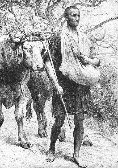 Eugène Burnand   The Sower Matthew 13:3-23