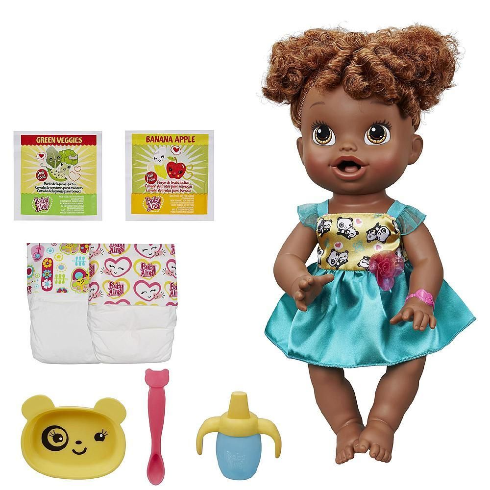 African American Realistic Interactive Talking Doll Speaks English And Spanish Baby Alive Dolls Baby Alive Baby Dolls