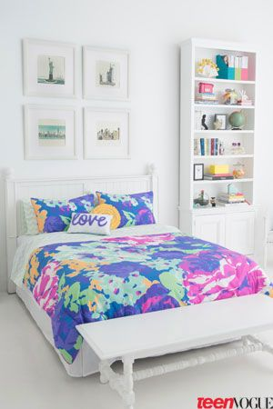 Time for a Room Makeover—the Latest Teen Vogue Bedding Collection ...