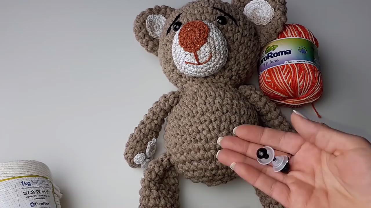 Amigurumi crochet Care Bear tutorial part 1 - YouTube   720x1280