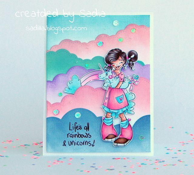 oh wow amiche sono super felice, siamo molto felici di mostrarvi i nuovissimi disegni di Krista Smith per Make it Crafty. Zoe li ha s...