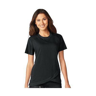 72ec1b7c62d Tops 105440: Koi Lite Women S Meditate Crew Neck Solid Scrub Top Black  Medium -> BUY IT NOW ONLY: $36.56 on eBay!