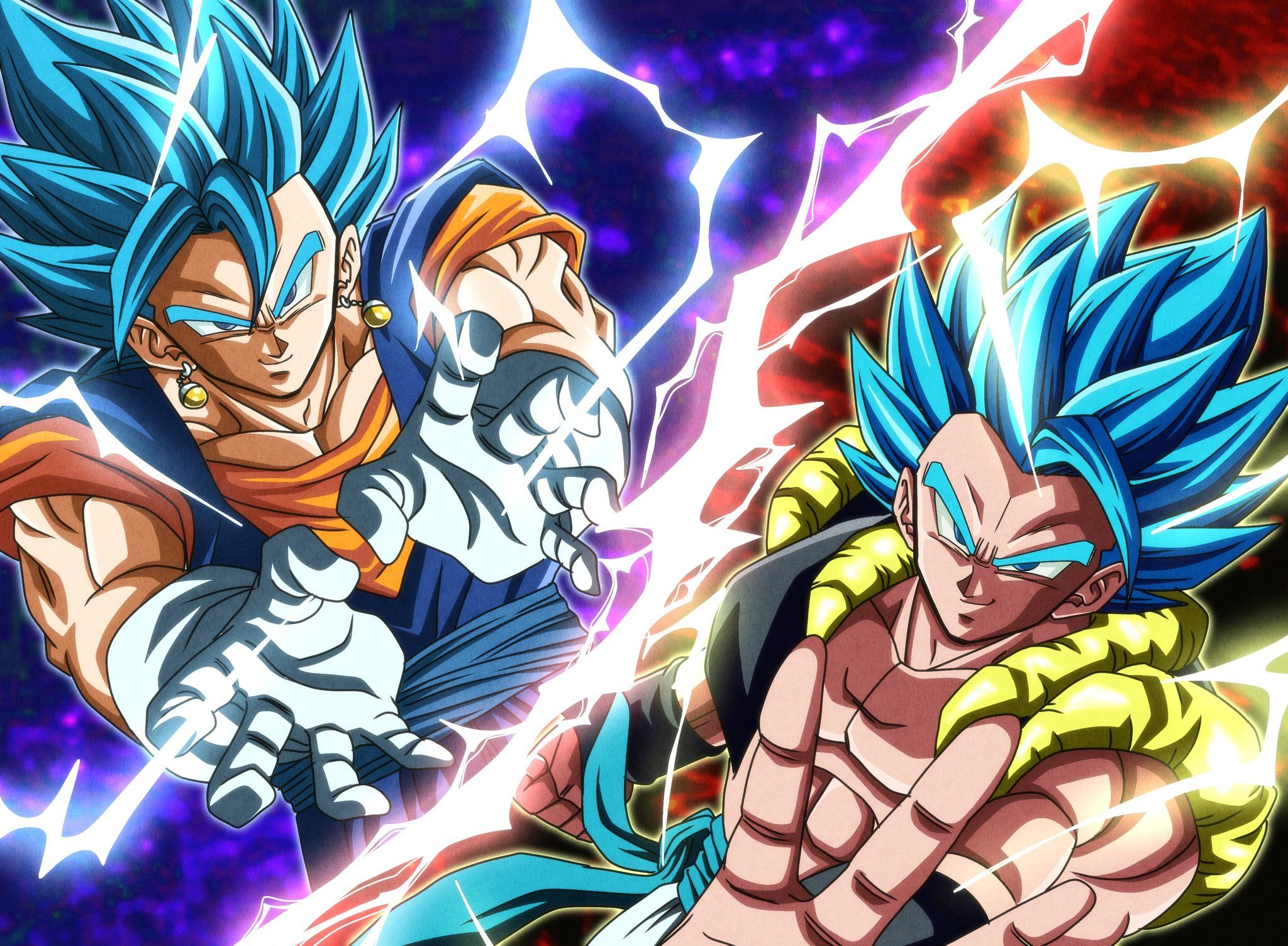 Pin de Stacey Green en VEGITO blue VS GOGETA blue en 2020