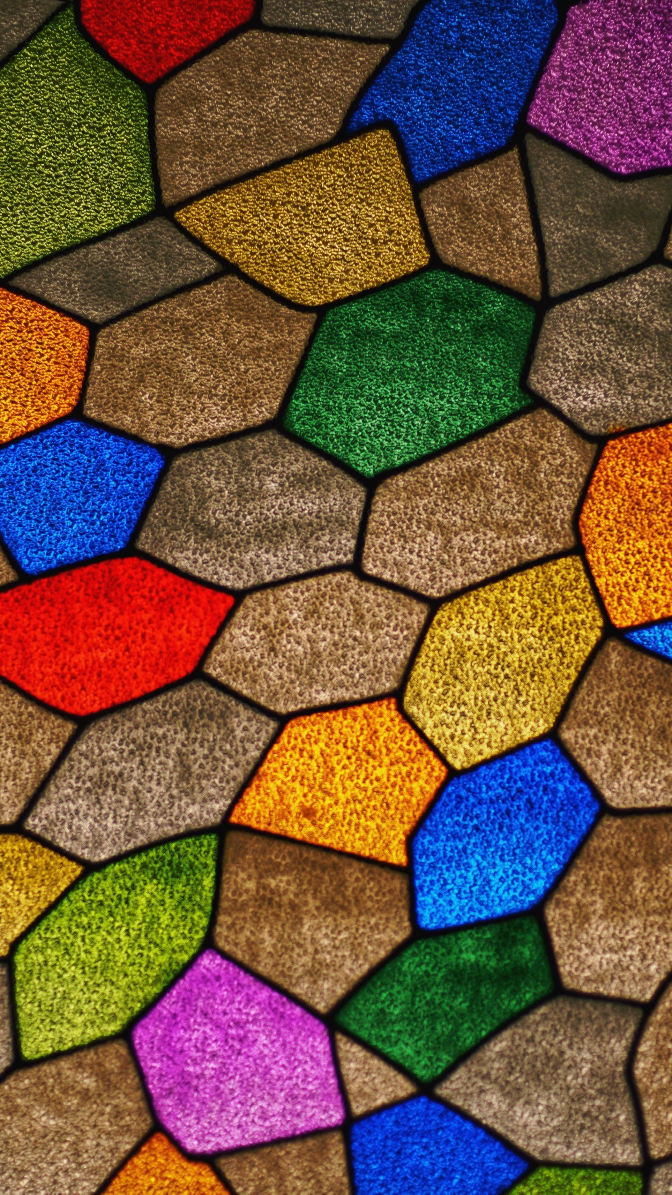 Tile, mosaic, pattern, colorful, 2160x3840 wallpaper