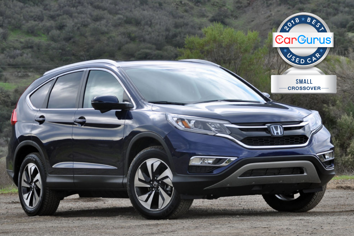 CarGurus 2018 Best Used Car Awards goes to the Honda CRV