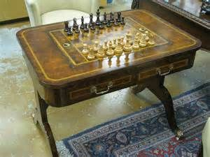 vintage chess game table - Bing Images
