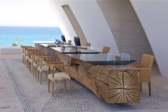 Charming  # WeLoveDesign @MarquisLosCabos By @Archetonic @JMICHMIZR #Taracea # Furniture