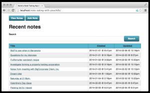 Building an Offline First App with PouchDB   Tutorials   App