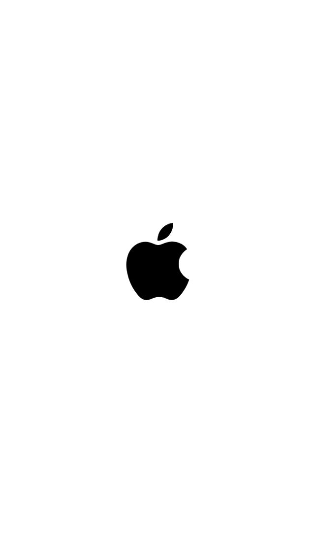 white Apple boot logo! Enjoy :P from Uploaded by user