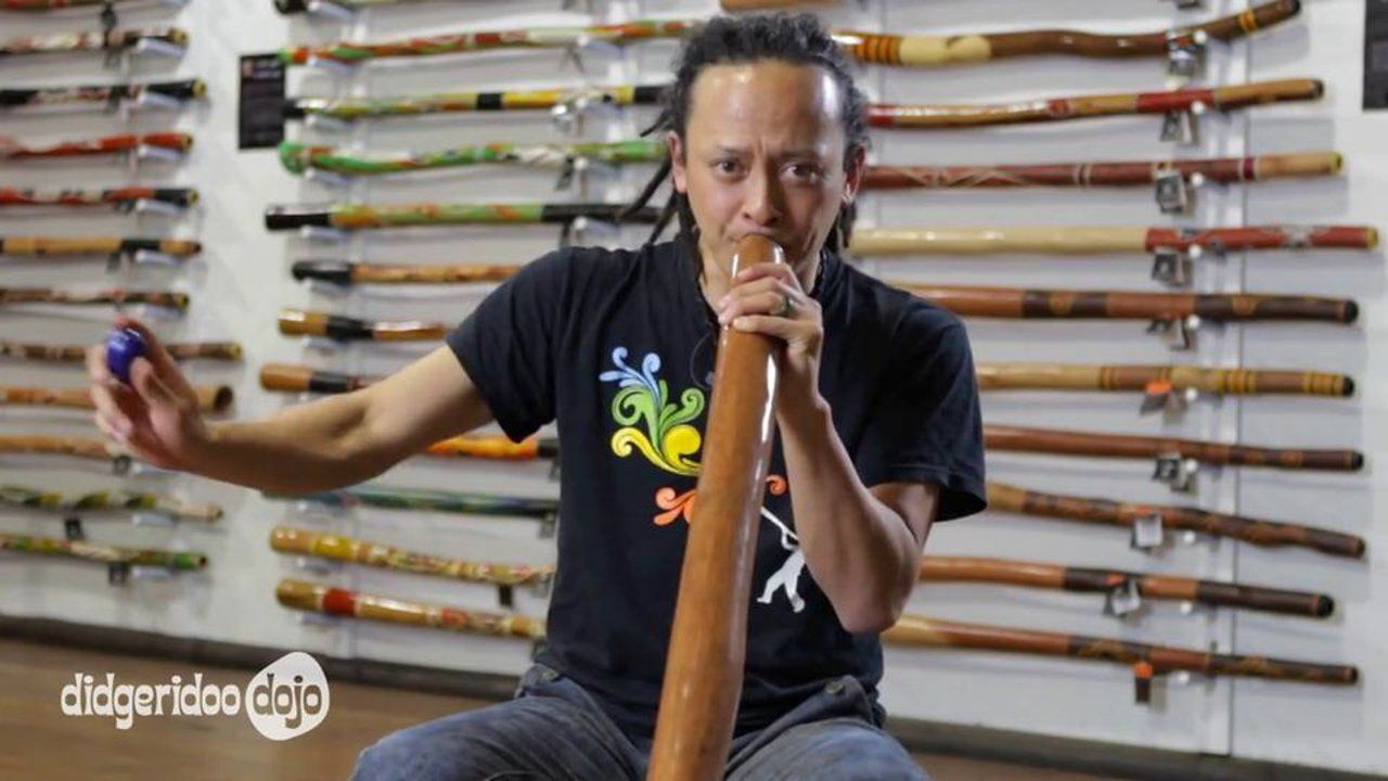Adding a simple percussion instrument to your didgeridoo playing will add a whole new dimension to your sound. In this lesson, Sanshi shows you the first steps in playing with an egg shaker