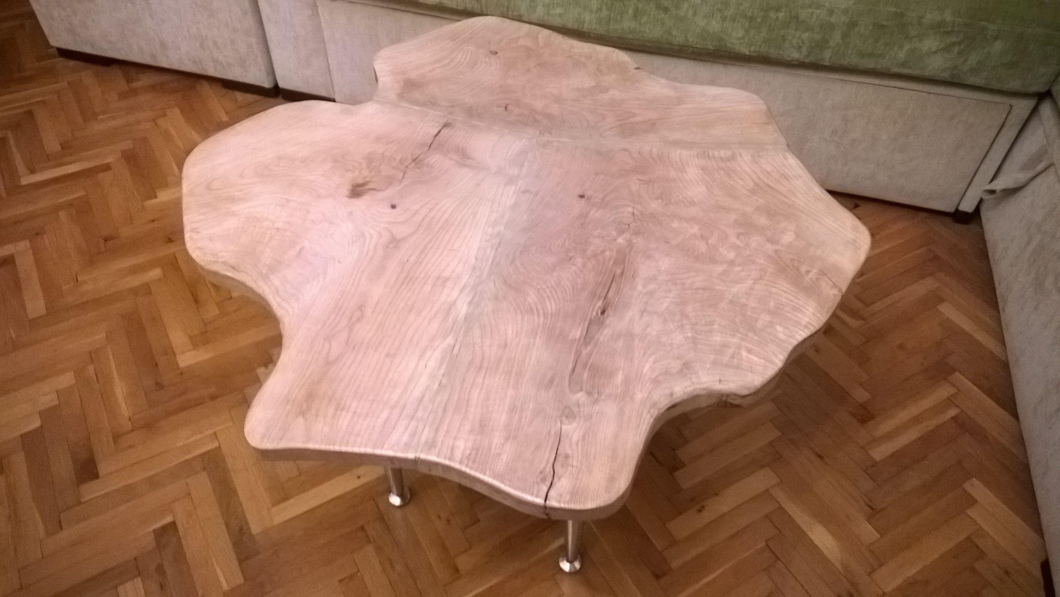 ash wood table
