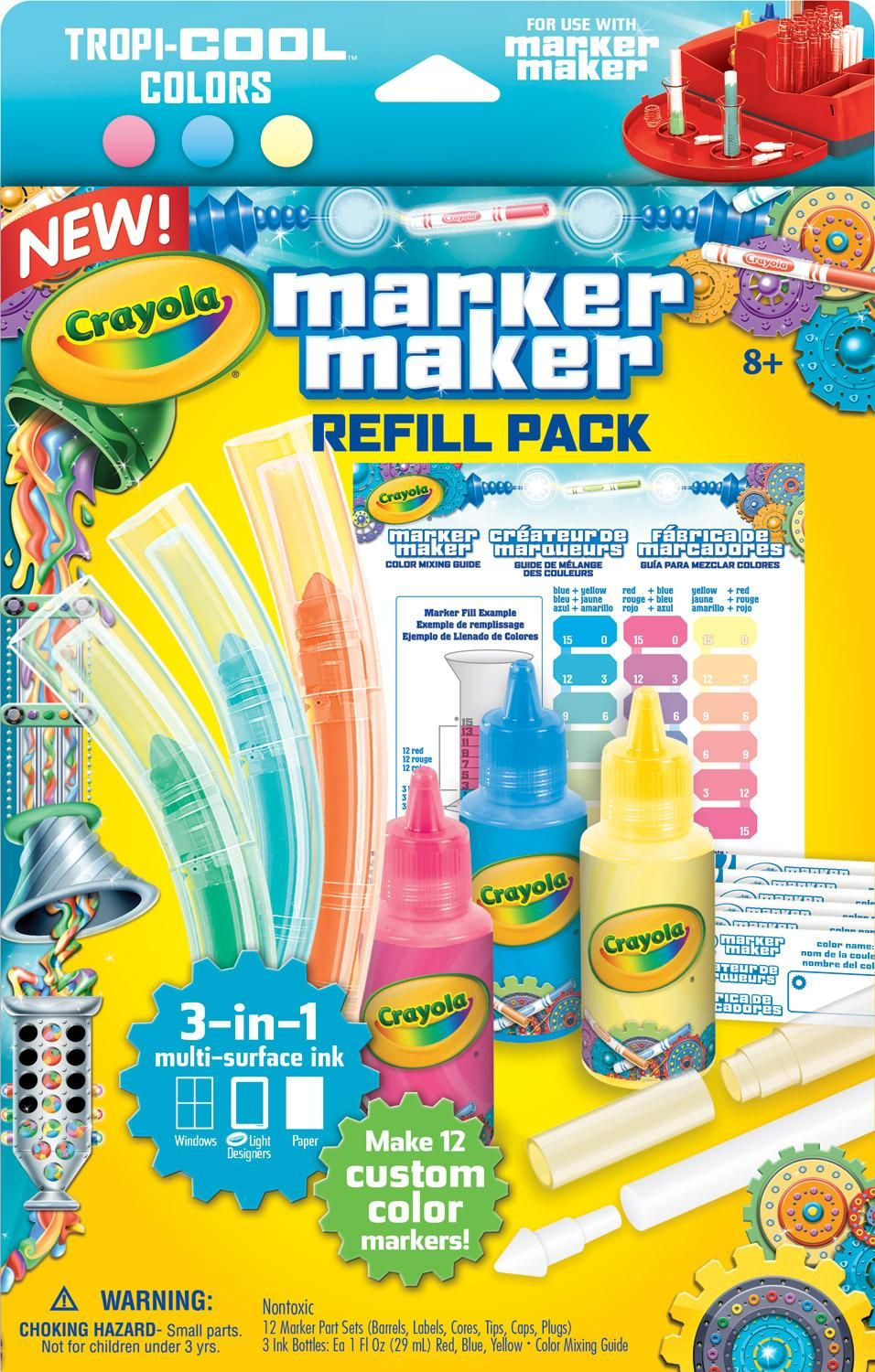 Robot Check Crayola Markers Marker Refill Coloring Markers