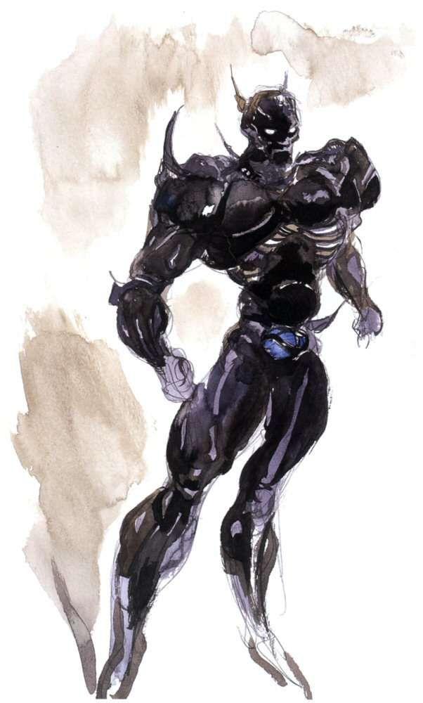 Yoshitaka Amano Cecil Harvey Final Fantasy Iv Final Fantasy Art Final Fantasy Final Fantasy Iv