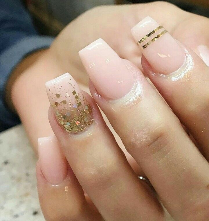 Pin by Yuyis on Uñas Acrilicas | Pinterest | Fun nails, Nude nails ...
