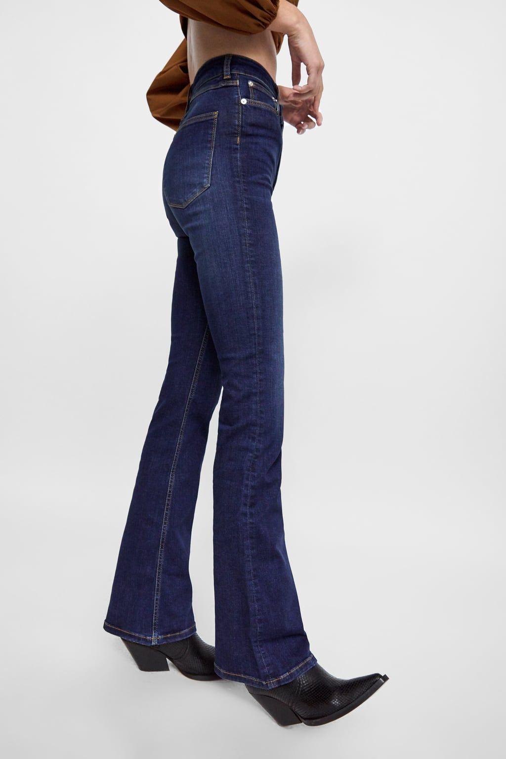 69663bae Zw premium skinny flare sena blue jeans | Fall 2019 | Blue jeans ...