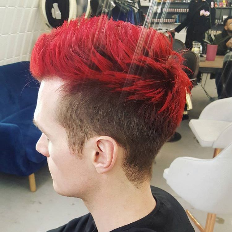 Men S Bright Red Hair At Our Salon In Clapham Https Www
