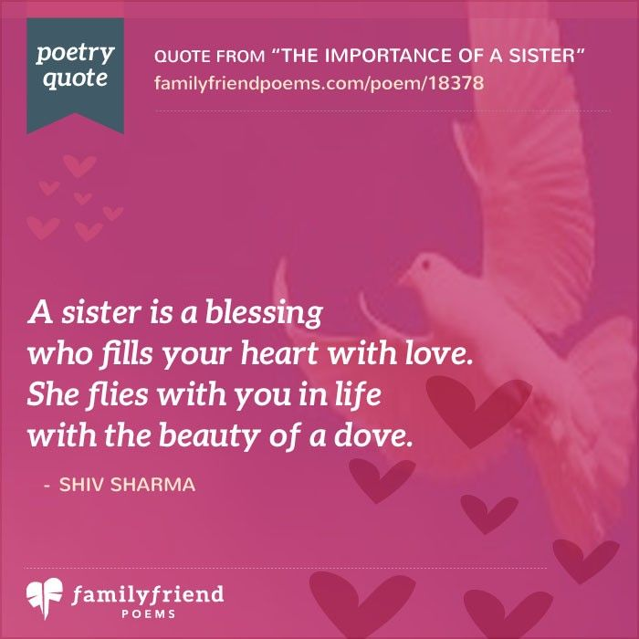 Best Sister Birthday Quotes In Hindi: Why I Love My Sister Poem, The Importance Of A Sister