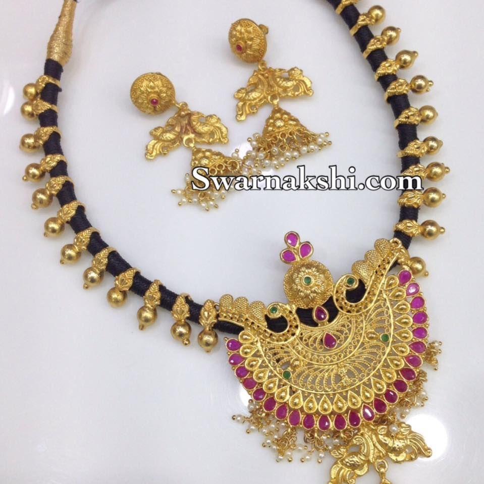 1 Gram Beads: Pin By Swarnakshi 1 Gram Gold Jewellery On Swarnakshi