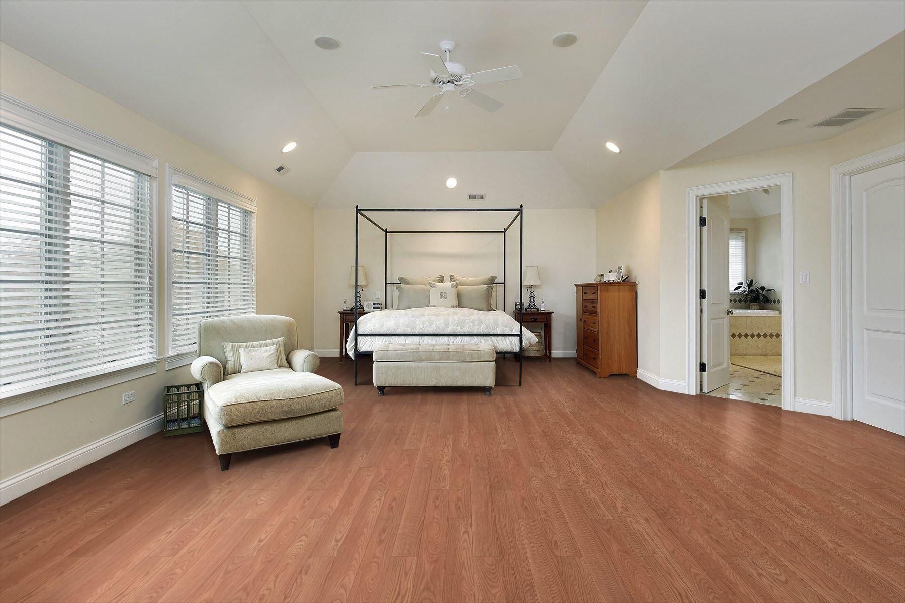 Blanched French Oak Laminate Flooring Oak Laminate Bedroom Flooring White Bedroom Design