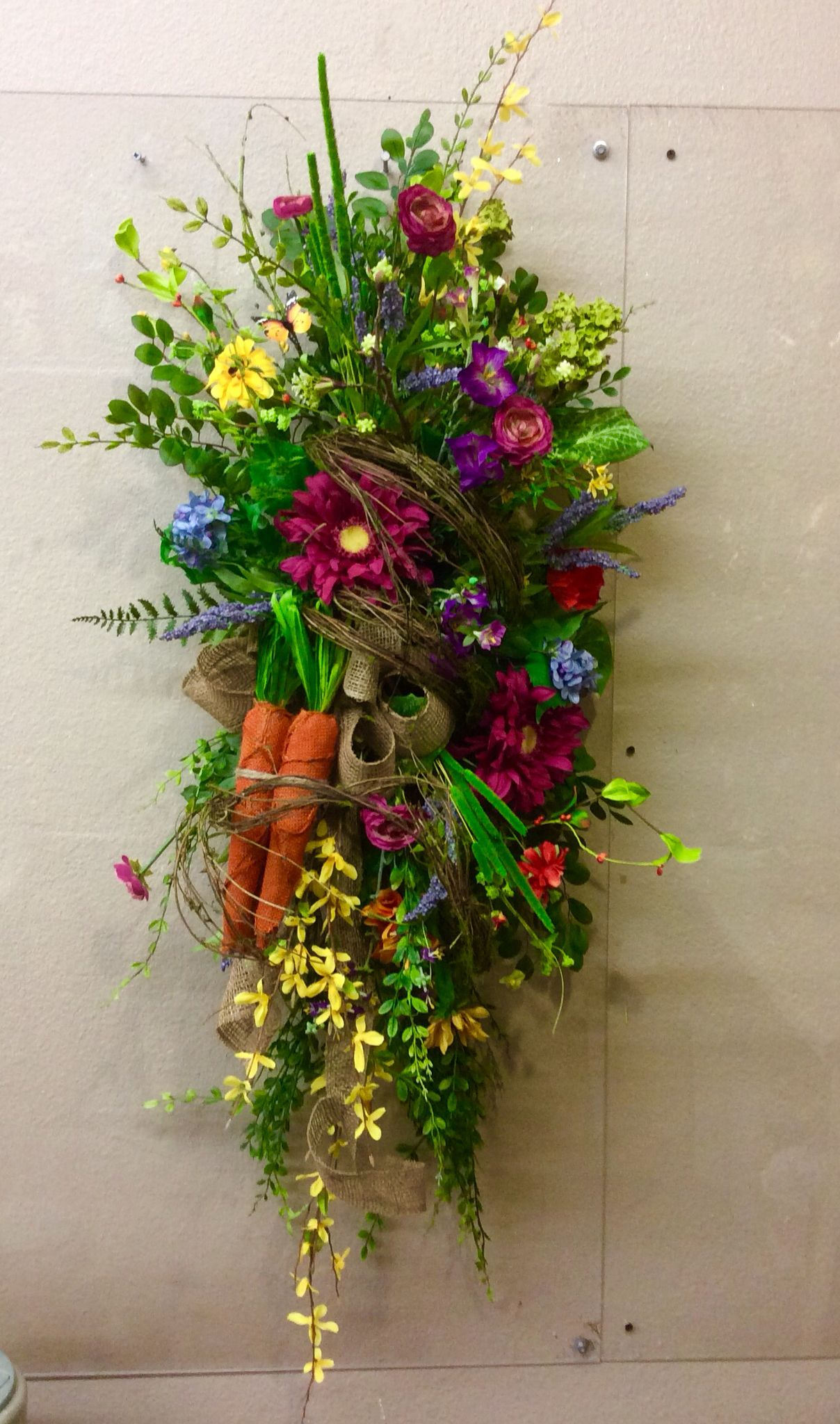 Spring Swag Swags Christmas Swags Door Wreaths Diy