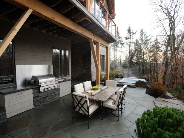 Outdoor Kitchens. Hgtv Dream HomesPatio BarSlate PatioDeck ...