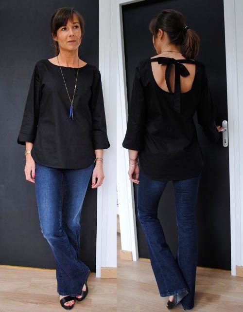 top Bianca Une souris dans mon dressing idée à piquer... | sewing ...