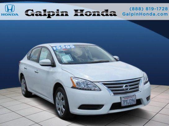 Good Sedan, 2015 Nissan Sentra SV With 4 Door In Mission Hills, CA (91340
