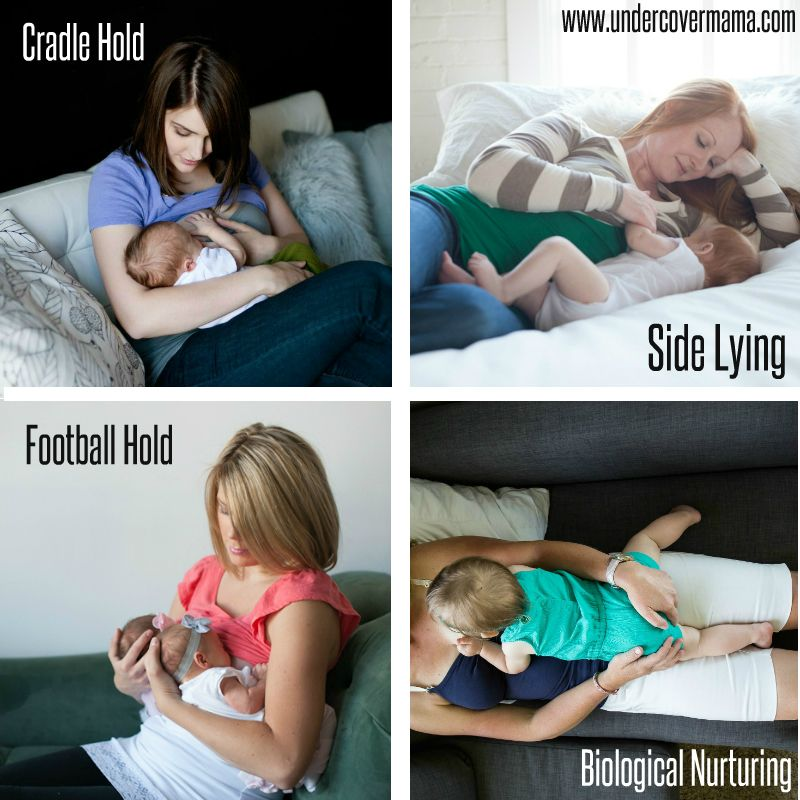 breast feeding in position