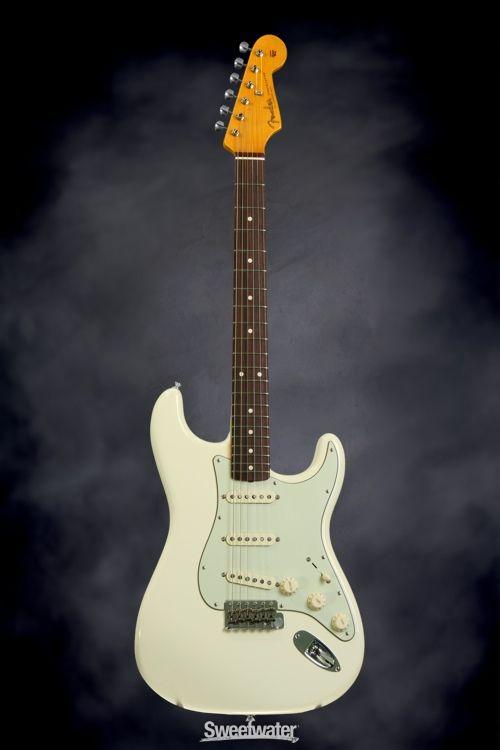 fender john mayer signature stratocaster olympic white