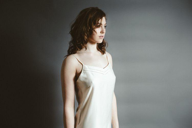 5725eabd5e72d Mulberry Silk Nightdress/Slip - Lunar Grey | Women's Ethical Fashion ...