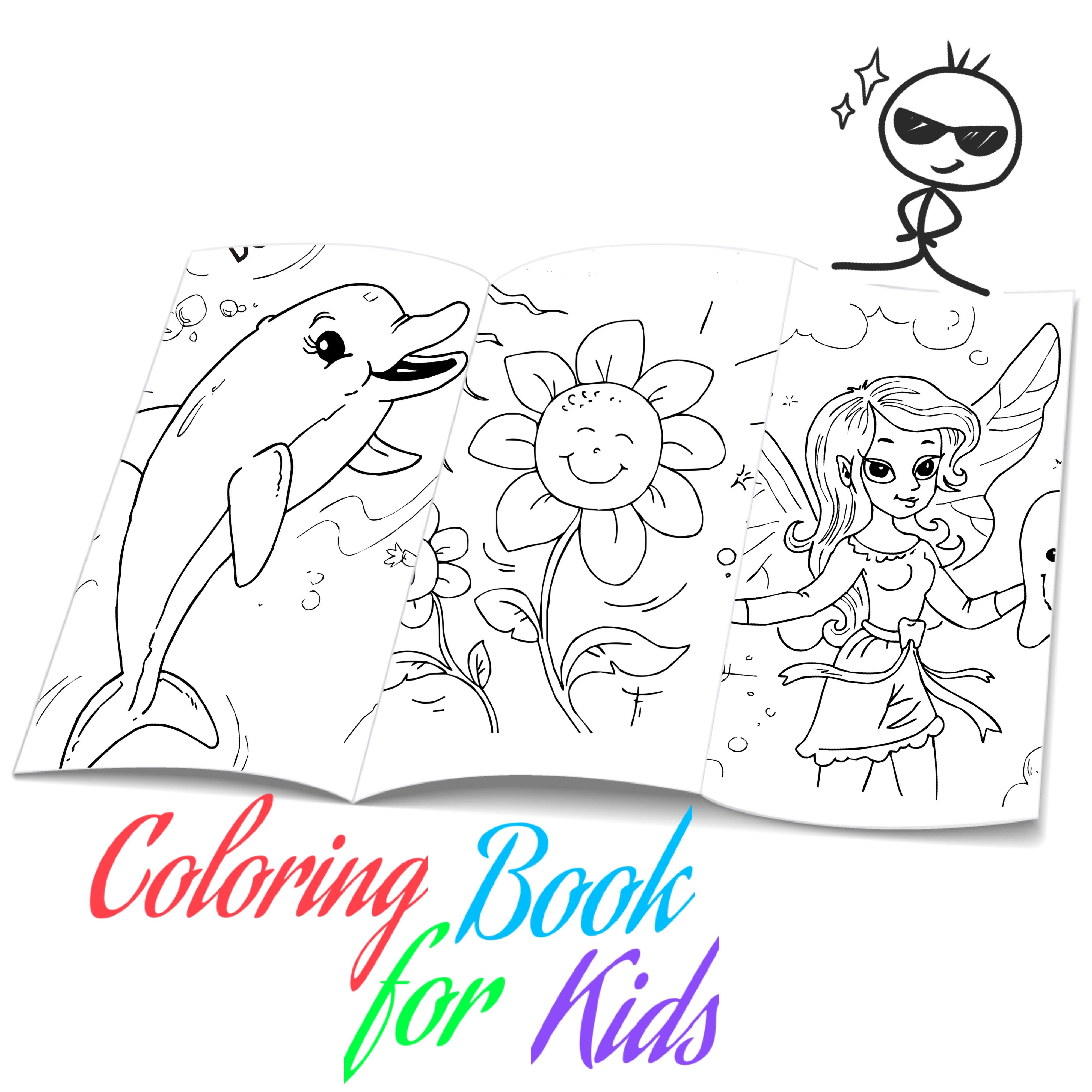 Coloring Book For Kids Coloring Pages Printable Coloring Sheets In 2020 Coloring Books Coloring Pages For Kids Printable Coloring Book