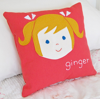 Olliegraphic pillow | Cool Mom Picks