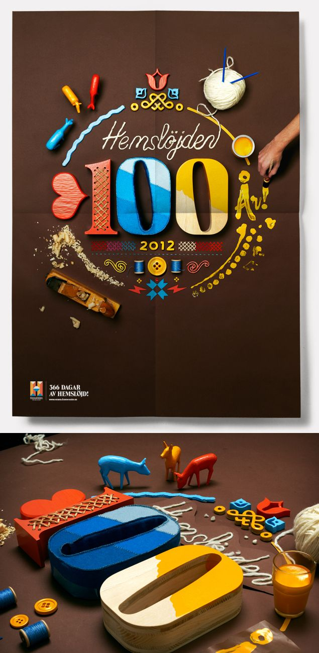 Swedish Handicraft | Graphic identity and communication is now handmade.
