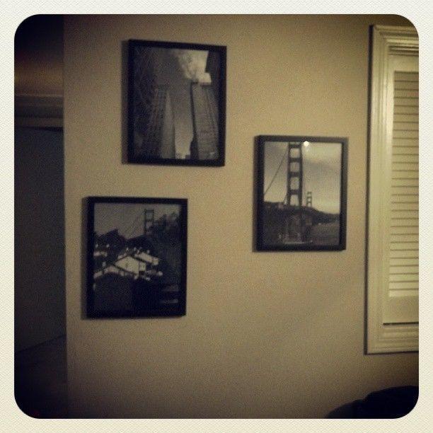 OOAK 3 Original B&W Photographs of San Francisco, CA 11x14 (FRAMES ...