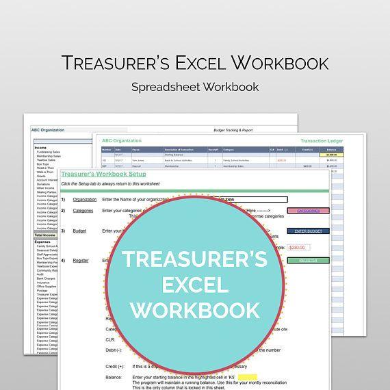 pta pto treasurer s finance manager treasurer software record