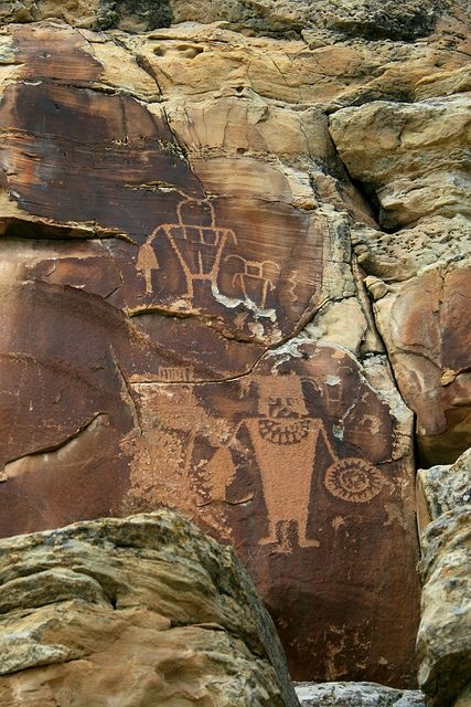 McKee Rock Art, Uintah County, Utah by Robert Pahre