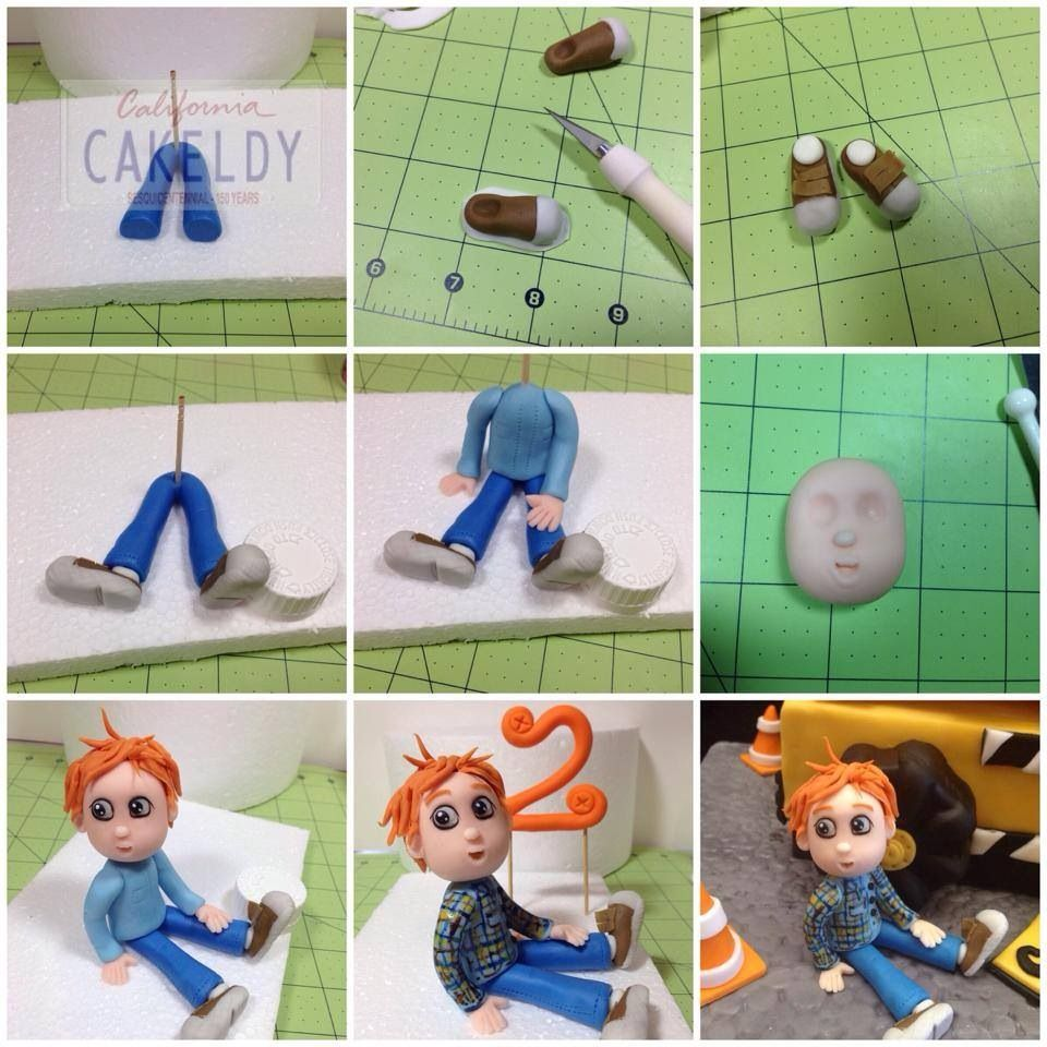 fondant figures tutorials