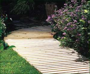 Backyard Walkway Ideas flagstone borders this would be a mower friendly border too Lots Of People Add Concrete Or Stepping Stone Walkways To Their Yards And Gardens