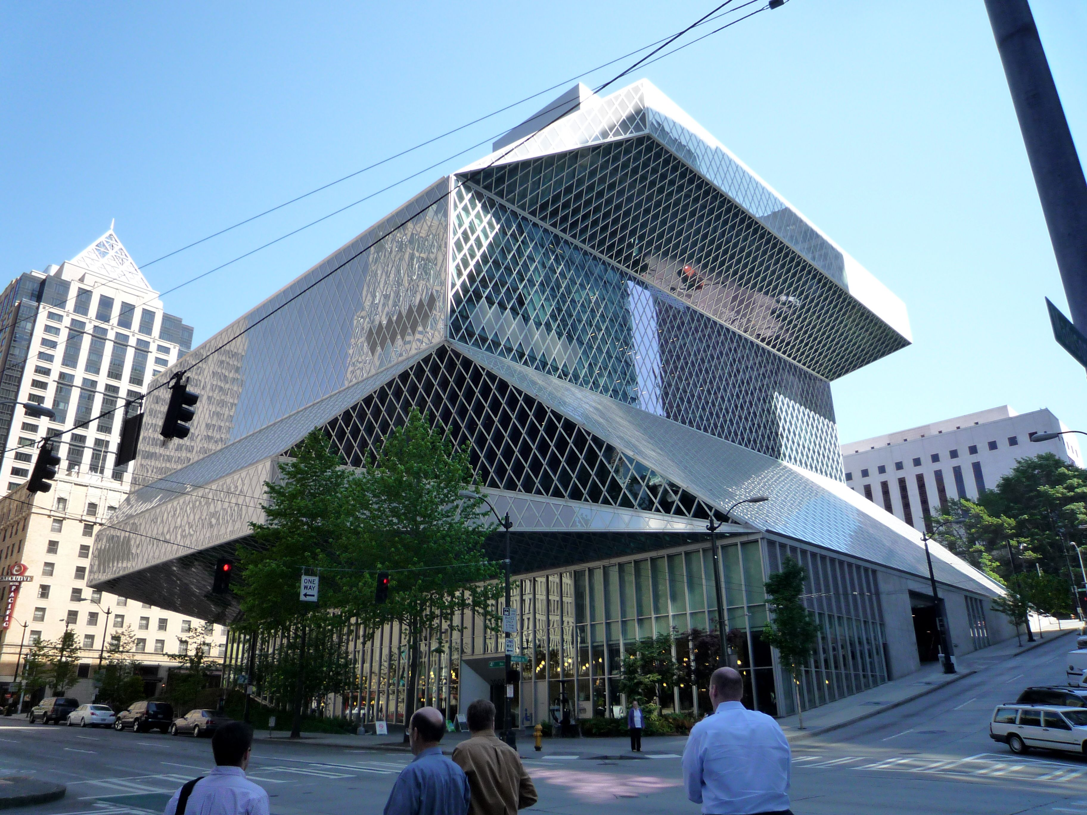 Seattle Public Library Named Best Architectural Significant Building Built In The Last 20 Years And Home Of System Usa