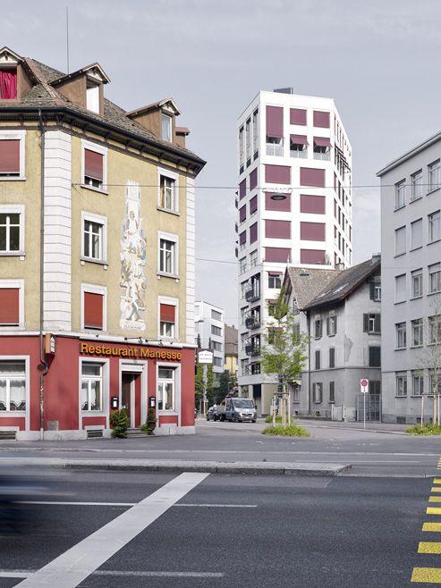 Hochhaus Weststrasse Zürich Löliger Strub Architekten