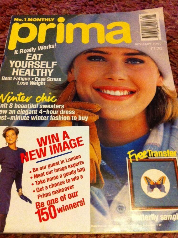 Prima Magazine, Women\'s Elegant 4 Hour Dress Sewing Pattern, Recipes ...