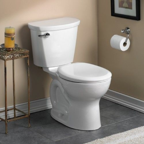 American Standard Cadet Pro Round Front 10 Rough In Toilet Toilet Tank American Standard Toilet