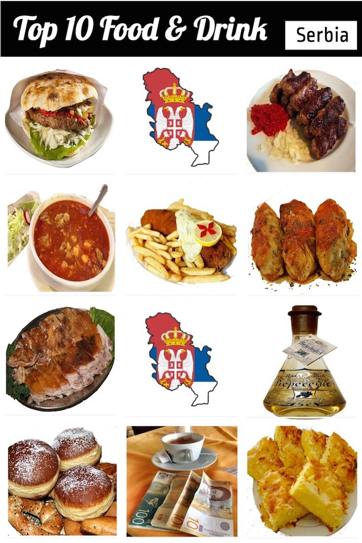 Top 10 Serbian Food & Drinks to Try