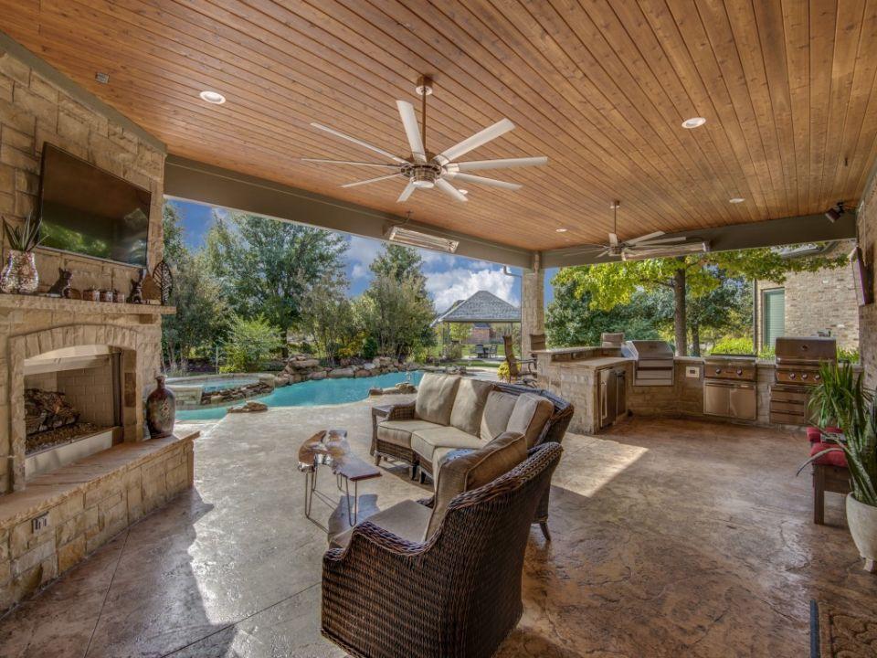 Outdoor Living in Prosper Outdoor living space design