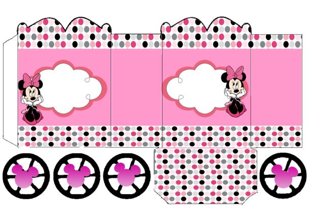 Imprimibles de Minnie en rosa