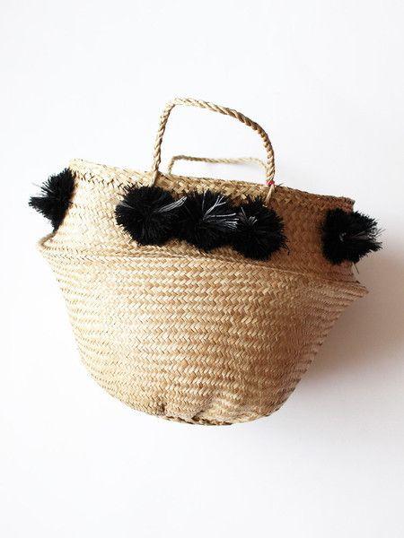 f9f7a6a667 Eliza Gran Pom Pom Basket - Medium