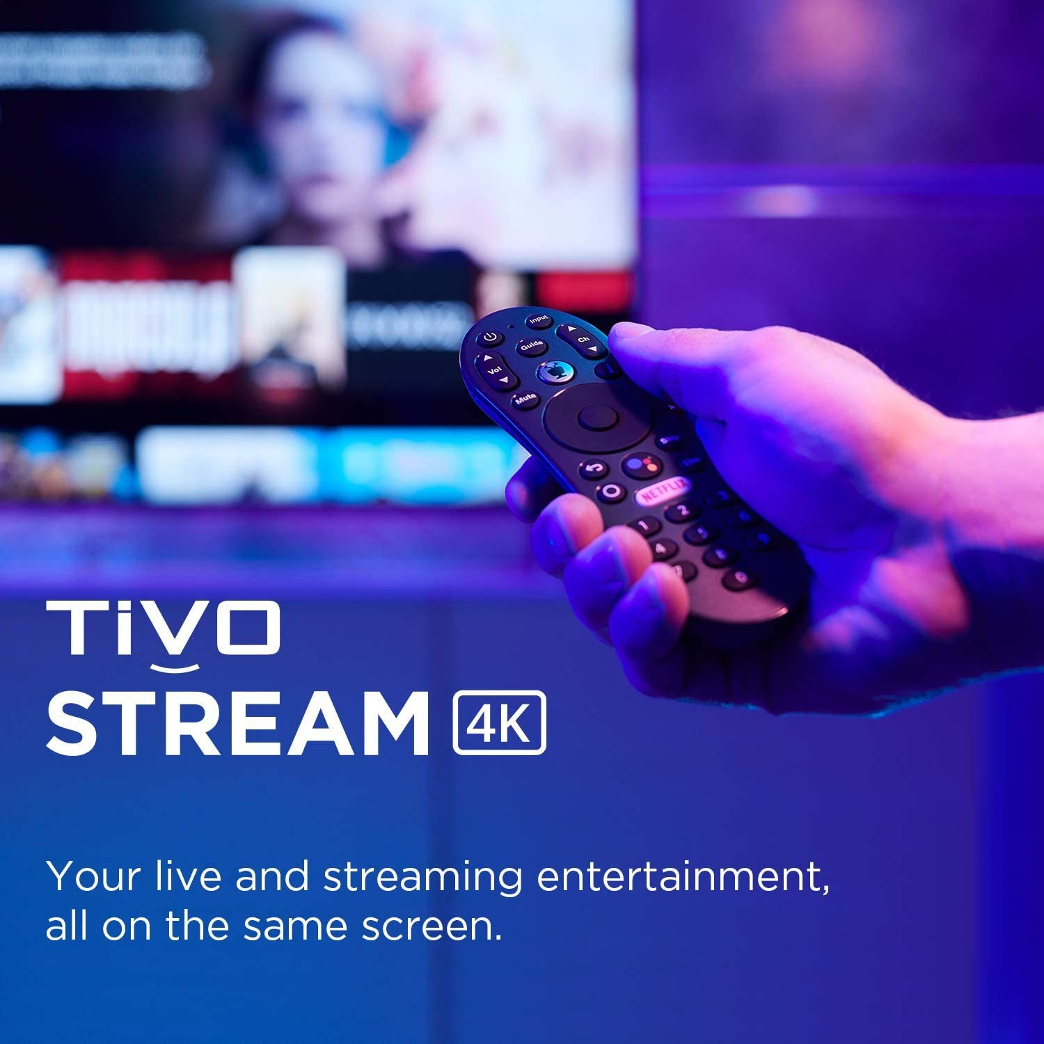 TiVo Stream 4K Every Streaming App and Live TV on One