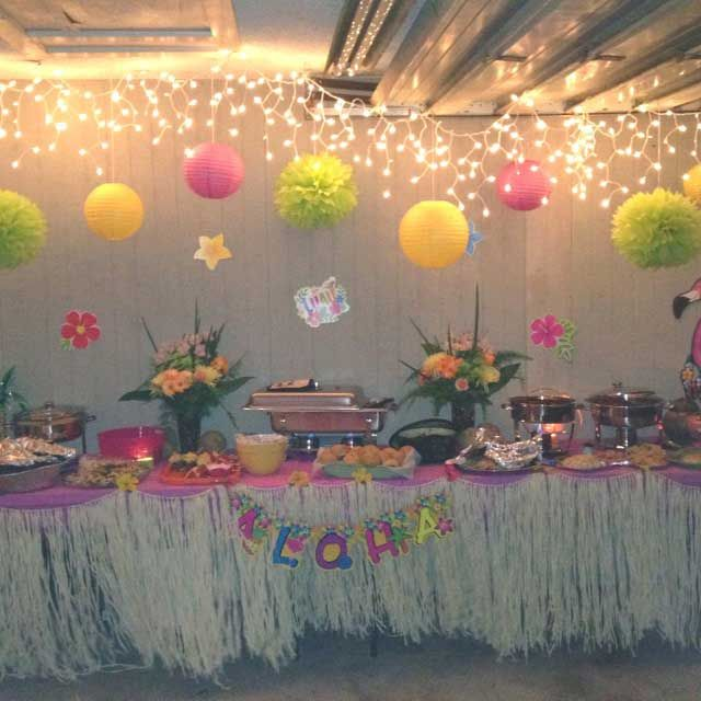How To Plan Luau Theme Parties Ideas Hawaii Pinterest Luau